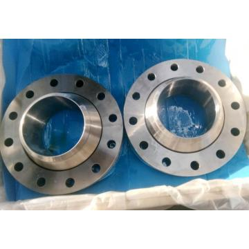 Hot forging process of welding neck flange