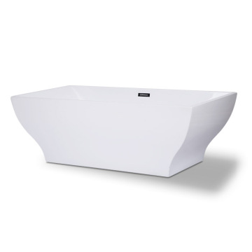 66 inch Freestanding White Tub