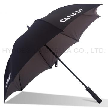 Two Colors Windproof Dual layer Straight Umbrella