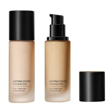 Long lasting liquid foundation