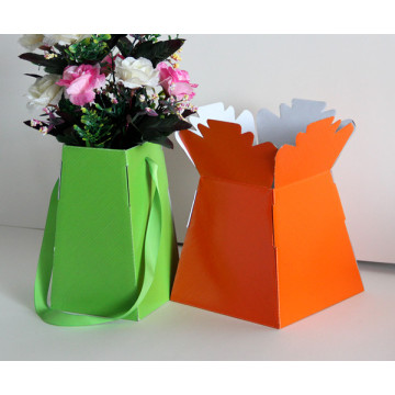 Paper floral packaging box