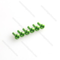 Different size colored socket head 7075 aluminum screw