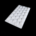 food grade white PS plastic blister  packaging