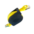 High Speed Cat7 Retractable Ethernet Flat Cable