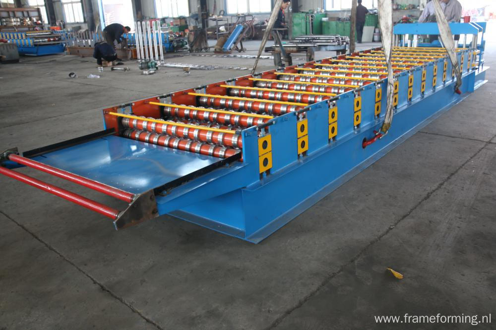 Steel Glazed Tile Forming Machine