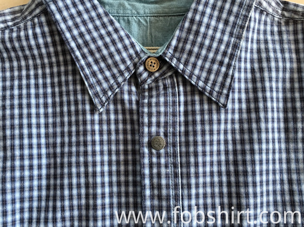 High Quality Long Sleeve Plaid Shirt