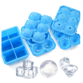 Food-Grade Reusable Silicone Ice Cube Trays