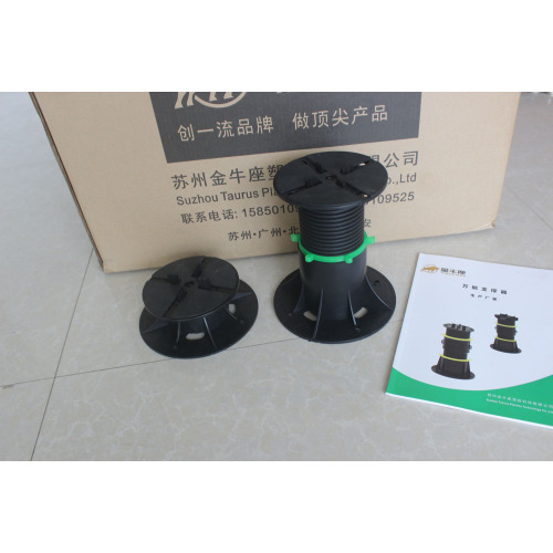 adjustable pedestal plastic stand for pave stone