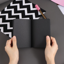 New 56K Notepad Diary Notebook Drawing Blank Black Sketch Painting Sketchbook Decorative Craft Gift For Party Back To School