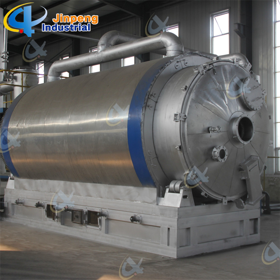 second hand tires pyrolysis machine