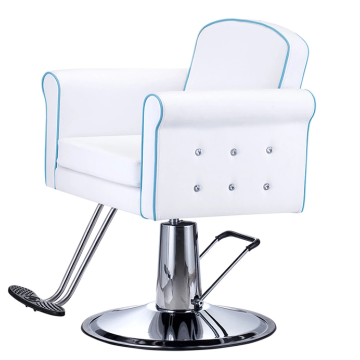 Barber Chair Blue And White