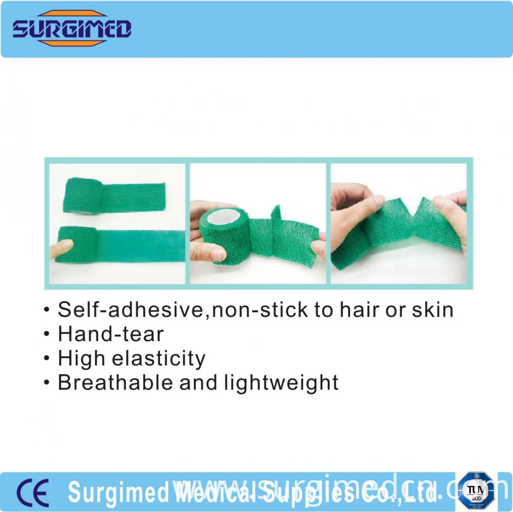 Elastic Cohesive Bandages Product Feature