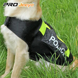 tactical police dog reflective vest