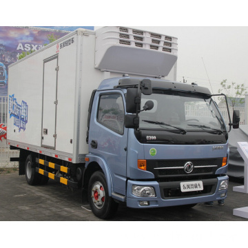 refrigerated truck with carrier transicold freezer