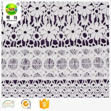 Fashion popular chemical embroidery lace fabric