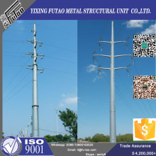 12M Power Transmission Line Pole For Electric