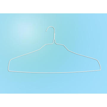 Special Design White Powder Square Shoulder Shirt Hanger