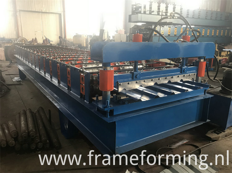standing seam roof panel roll forming machinene