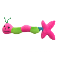 Plush Worm Dog Toy