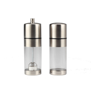 Premium Salt Shaker and Pepper Grinder Set