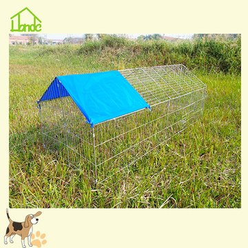 Outdoor silver chicken coop for sale