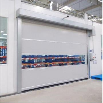 PVC Clothes Fast Rolling Shutter Door