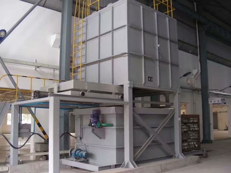 Vertical aluminum alloy quenching furnace