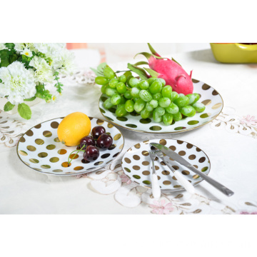 Wholesale Hotel Restaurant Custom Small Ceramic Dishes Plate