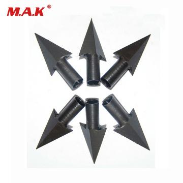 150 Grain Arrowhead Heads Bow and Arrow Point Steel Blade Arrowhead for Wooden Arrow Archery Hunting