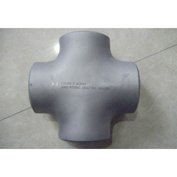 DN25 small size stainless steel equal cross
