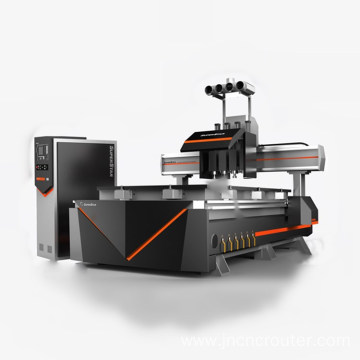 multihead woodworking cnc router with cnc router multihead