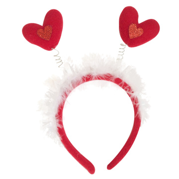 Easter heart shape headband decorations