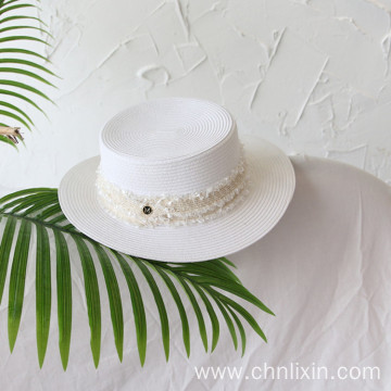 Fashionable cowboy cap paper straw hat