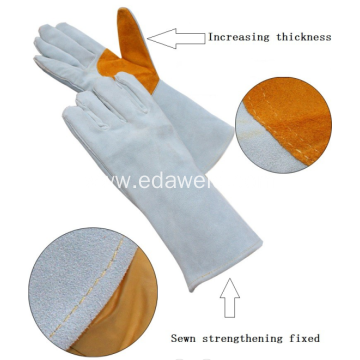 Long Style Welding Working Gloves