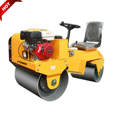 Vibrating CE Certificated 700kg Two Wheel Road Roller Compactor