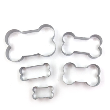 5pcs Dog Bone Cookie Cutter Set