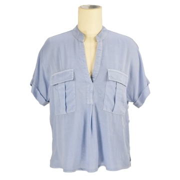 wholesale manufacturers branded casual designer formal plain t-shirts and tops for women