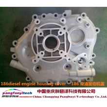Precision Aluminum Alloy 186 Diesel Engine Housing Cover
