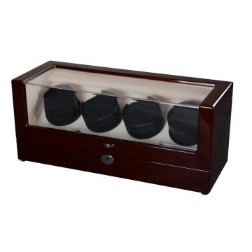 4 Rotors Wooden Watch Winder