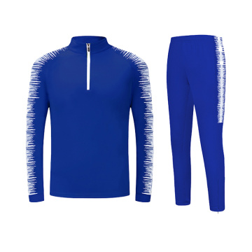 Screen printing half zip tracksuit