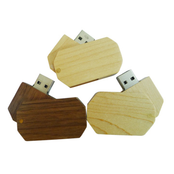 Mini Pendrive Creative Wood USB Stick Memory