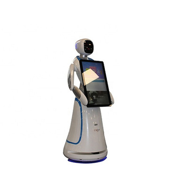 High-quality  Interactive Service Welcome Robot