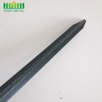 Powder Coated Metal Frame Material Metal Fence Posts