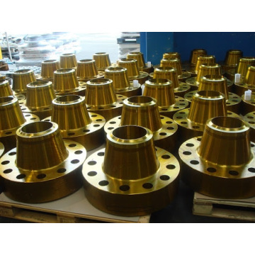 Forged steel yellow paint flanges