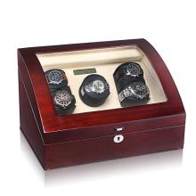 watch winder for 5 mechanical watches with storage