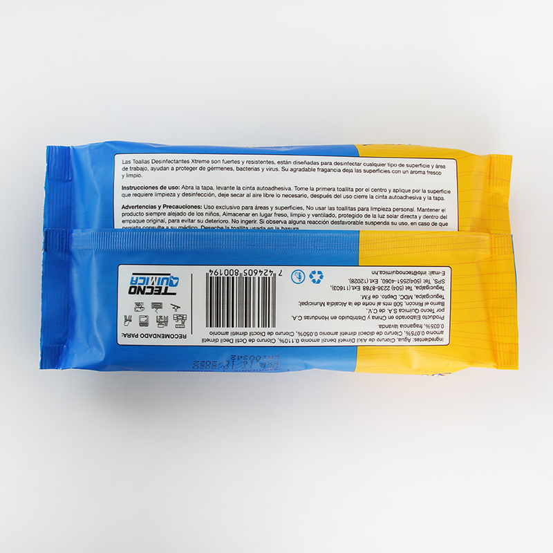 Non Alcohol Sanitizing Wipes