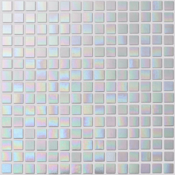 Rainbow colored glass mosaic tiles for wall decoration