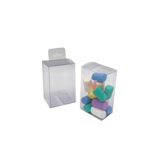 Small plastic PVC clear acetate packaging box