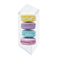 Macaron Gift Plastic Acetate Clear Packaging Boxes