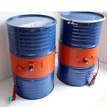 220V 110V 20-200L Silicone Band Drum Heater Blanket Oil Biodiesel Plastic Metal Barrel Gas Tank